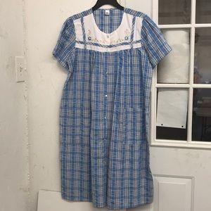 NWT House Dress Robe Duster